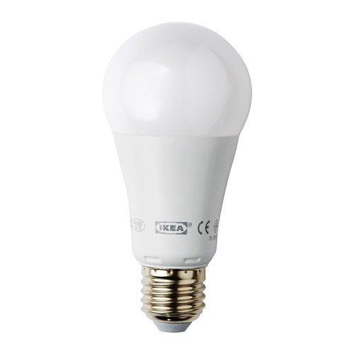 IKEA LEDARE LED-lamp E27; dimbaar; kogel; opaalwit; 1000 lumen