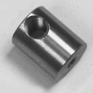 Rotor Feed Nut for Accu-Turn Brake Lathe | Fine Thread | Brass