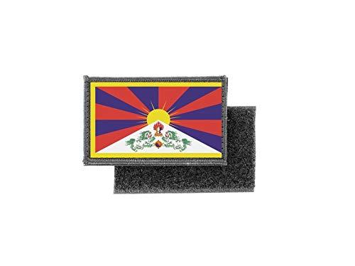 Vlag patch bedrukte badge land Tibet