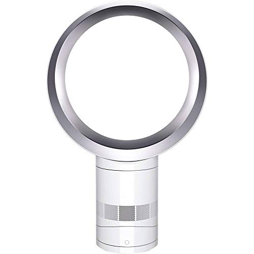 Dyson AM06 Ventilateur de Table Technologie Air Multiplier Garantie 2 ans Blanc/Argent