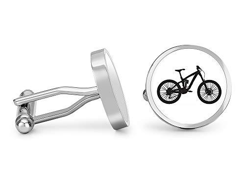 Oakmont Cufflinks Mountain Bike Cufflinks Bicycle Cuff Links