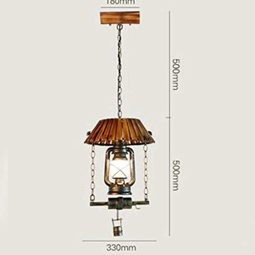 AK Moderne led bambus schmiedeeisen laterne kronleuchter bar cafe retro einzigen kronleuchter kronleuchter,Antiquität,30 * 100 cm
