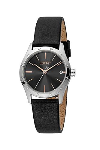 Esprit Damen Armbanduhr Nava Set 30 mm Inklusive Armband Armband Leather ES1L223L0025