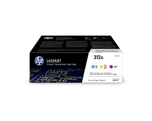 Hp 312A 3-Pack (Cf440Am) Blauw/Rood/Geel Originele Toner Voor Hp Color Laserjet Pro Mfp M476