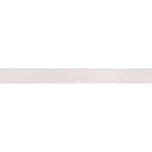 RAYHER 59925102Glitter Tape, 15mm, Rotolo 5m, Weiß