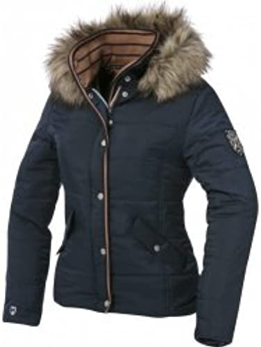 Equi-Theme Equit'M 978626075 Padded Veste Mixte, Navy Taupe bleu Contrasts, Taille Unique