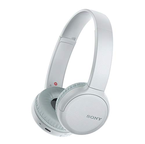 SONY WHCH510 Wireless On-Ear Headphones - White, Black or Blue $38