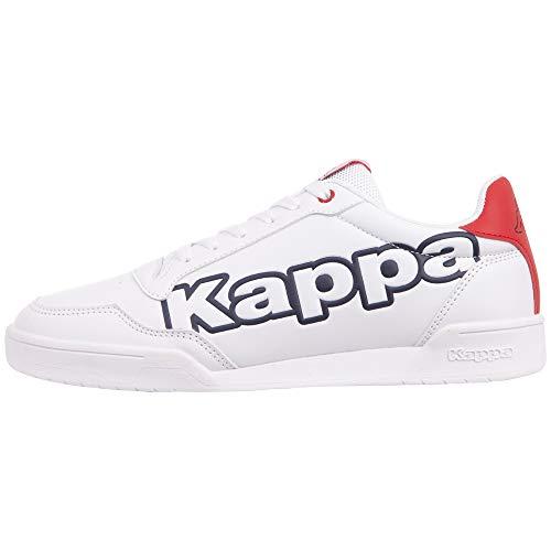 Kappa Yarrow Unisex Straßen-Laufschuh, 1067 White/Navy, 46 EU