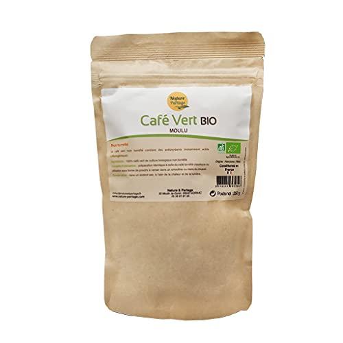 Café vert bio en poudre – 250 g