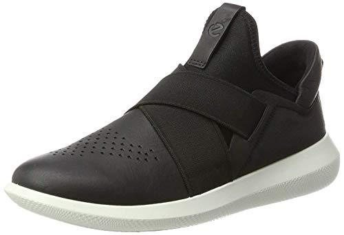 Ecco Scinapse, Zapatillas sin Cordones Mujer, Negro (Black/Black), 37 EU