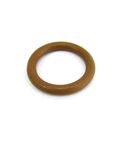 MooLuxe Men's Pleasure Band Ring for Endurance - Nitrile - 2' - Brown