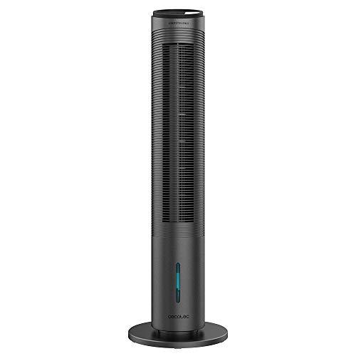 Cecotec Condizionatori a evaporazione EnergySilence 2000 Cool Tower Smart. Potenza 60W, serbatoio rimovibile da 2 litri, 3 velocità, 3 modalità con oscillazione, timer, controllo touch