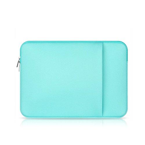 "Funda Protectora Antigolpes Ultra fino para 11"" 13"" 15"" 15,6"" Ordenador Portátil Laptop Tableta MacBook Pro Air - para 15,6"", Verde"
