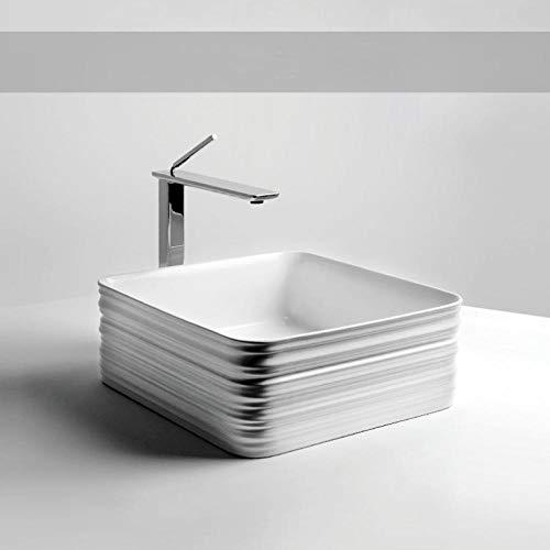 Hiwenr kunst wastafel badkamer moderne wastafel keramiek schip wit toilet wastafel waskom ruimte met afvoer zachte slang