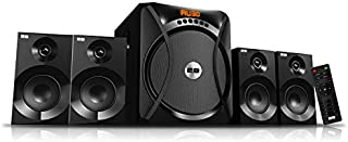 Speakers with Subwoofer 4.1 with Remote by 2B , Black , SP-82-4