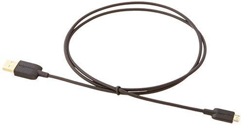 AmazonベーシックUSBケーブル0.9m(2.0タイプAオス-マイクロBケーブル)ブラック