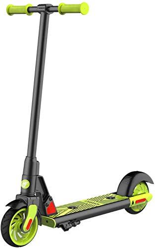 Hoverfly GKS - Patinete eléctrico para niños a partir de 6 hasta 12 años, 12 km/h, neumáticos completos de 6 pulgadas, Kick-Start Boost para niños, niñas y mujeres jóvenes, hasta 55 kg