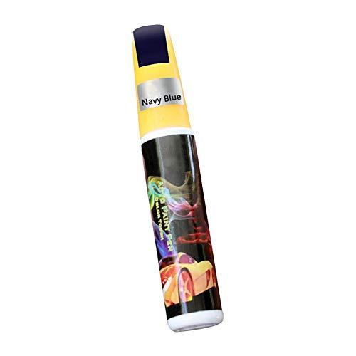 Pennarello per Auto,Penna Professionale per Riparazione Graffi per Auto Penna GM per Auto Vernice Penna per Graffi per carrozzeria, Bianco/Nero/Blu/Rosso/Grigio/Argento, Lunga Circa 120 mm,