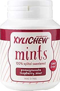 Xylichew 100% Xylitol Breath Mints - Non GMO, Gluten Free, Aspartame Free, and Sugar Free - Natural Oral Care, Relieves Ba...