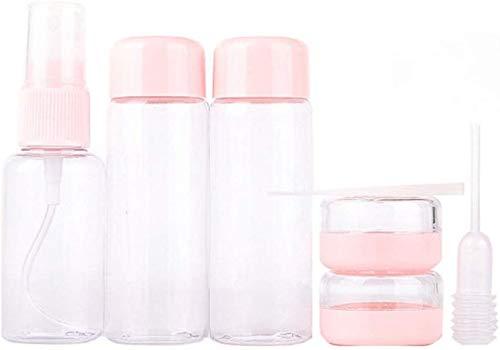KongEU Make-up-Behälter, Flasche, 5 ml, tragbar, für Handtasche, Tasche, Gepäck, Urlaub, Business, Camping