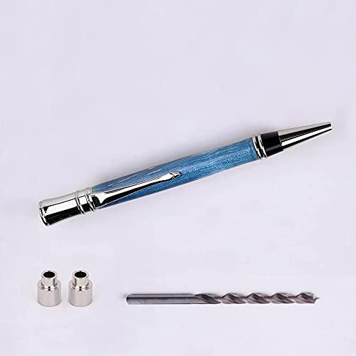NAGU Executive Pen Kit - 24K Gold - Chrome w/2pcs bushing &Drill Bit