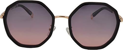 SQUAD Polígono Gafas de Sol polarizadas, Para mujeres y hombres, Fashion Retro, con Protección UV, Lentes planas