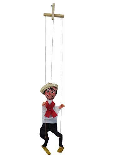 Leos Imports Mexican Puppet Marionette (Cantinflas)