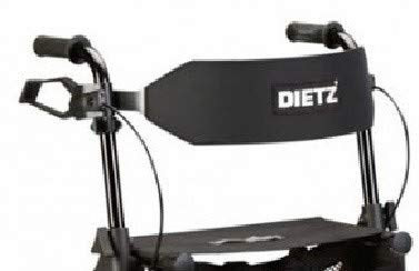 Rugsteun Deluxe voor Rollator Dietz Taima