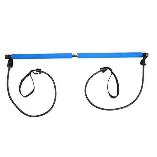Hancend Portable Pilates Studio Yoga Gym Ejercicio Banda de Resistencia Elastic Home Pilates Bar Stick Fitness Cuerda