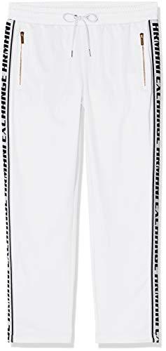 Armani Exchange Logo Tape Pantalones de Deporte, Blanco (Optic White 1000), 44 (Talla del Fabricante: Large) para Mujer