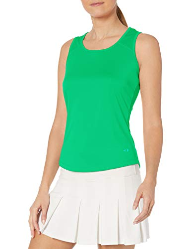 Grand Slam Women's Sleeveless Tank Top with Keyhole Back, Mint, M