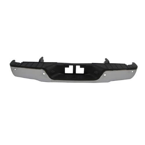 FOR Toyota 2007-2013 Tundra Front Steel Bumper Face Bar Chrome With Sensor Hole