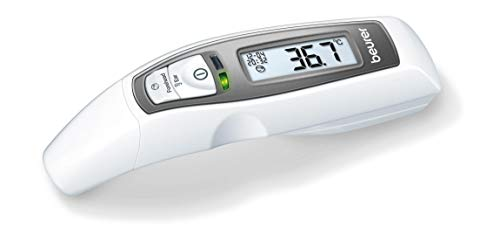 Beurer 79518 Infrared Multi Functional Thermometer with 6in1 Function 65ft. (White)