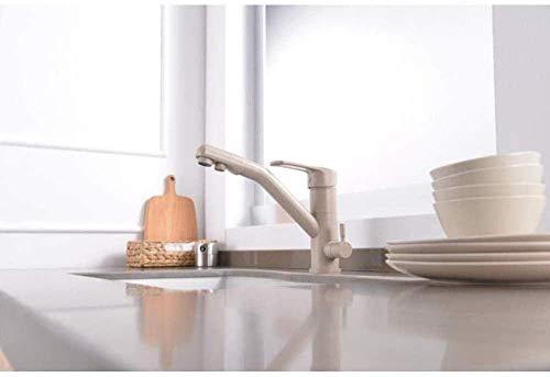 NZDY Grifo Grifo de Cocina Grifos Mezclador de Cocina Grifo de Doble Función Filtro de Agua Grifo de Fregadero de 3 Vías