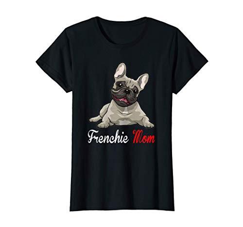 Womens French Bull-dog Love-r Dad Mom, Boy Girl Funny T-Shirt