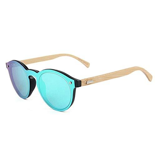 DIF natuurlijke bamboe houten zonnebril mannen bestuurder bril vrouwen palissander bril