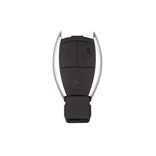 Huhu 3 Botones Casilla De Automóvil Cáscara Auto Control Remoto Carcasa Reemplazo De Caja Accesorios Clave De Coche Ajuste para Mercedes Benz E + M + C Clase