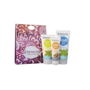 BENECOS Bio-Kosmetik-Geschenkset für die Pflege der Haut und Hände in natürlicher Form mit Melissa-Extrakt