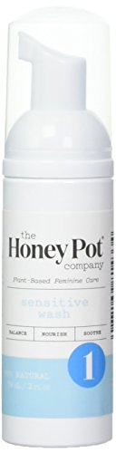 The Honey Pot Company Sensitive Feminine Wash-Herbal-2 Fl Oz