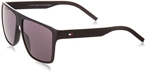 Tommy Hilfiger TH 1717/S gafas de sol, MTT NEGRO, 59 para Hombre