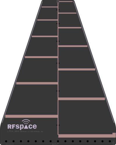 RFSPACE LPDA-MAX Log Periodic UWB Antenna 300 MHz - 1000MHz for UWB TX/RX SDR RADAR GPR SIGINT EMC TEST ADSB WIFI FVP TV VIDEO IoT LoRa