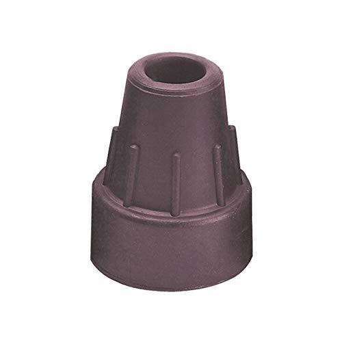 Krückenkapsel aubergine 16mm (Ossenberg), Zubehör für Gehstöcke und Unterarmgehstützen