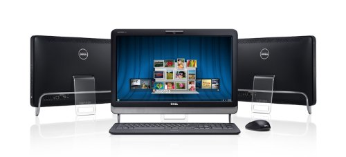 PC und (Multi-Touch)-Bildschirm:Dell Desktop Inspiron One 2205