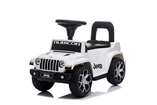 Best Ride On Cars Jeep Rubicon Push Car, White