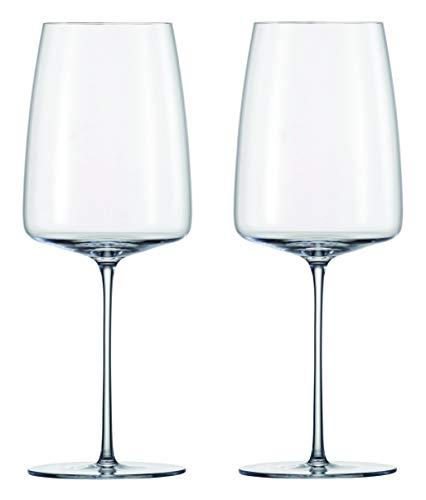ツヴィーゼル 1872 ワイングラス クリア 555ml Simplify ハンドメイド 119926 2脚入