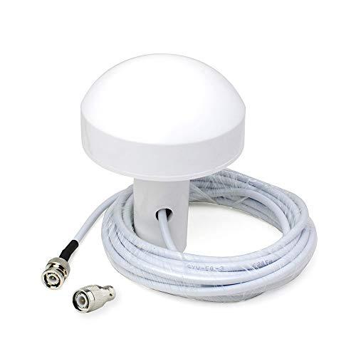 Bingfu Antena Externa de Navegación GPS Marina Barco (5m Cable) Compatible con Garmin GPSMAP Map NavTalk StreetPilot Furuno Matsutec Trimble Sonda de Sonda Transductor Unidad Receptor Módem GPS