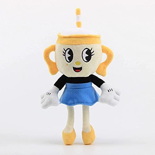 YYhkeby Juego de Peluche de Copa, algodón de Relleno Suave Premium Abrazando Almohada, Anime Lindo Animales de Peluche Muñecas de Juguetes Suaves, para niños, niñas (23 cm) Jialele