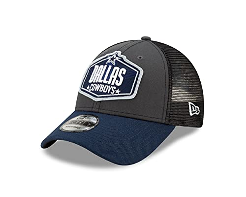 New Era Dallas Cowboys NFL 2021 Draft 9Forty Snapback Cap - One-Size