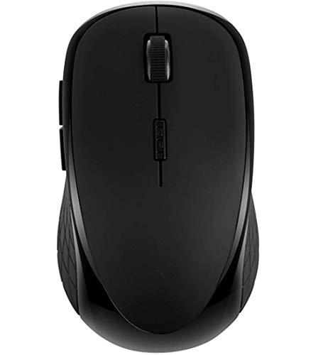 BGFA - Ratón inalámbrico Bluetooth recargable silenciador silenciador para ordenador portátil de escritorio para hombres y mujeres