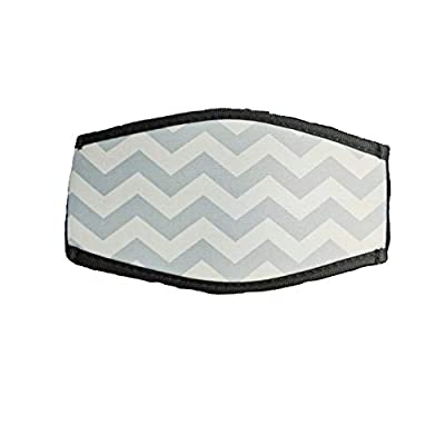 ALEIFLE Neoprene Diving Mask Strap Cover - Comfortable Cover for Diving and Snorkel Masks (Grey)
